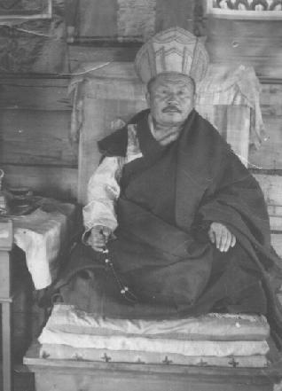 Бандидо-хамбо лама Шарапов