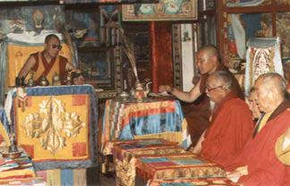 Далай-лама в Агинском дацане