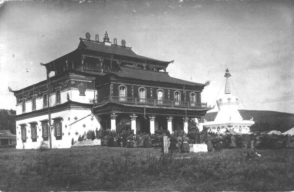 Агинский дацан 1914 г.